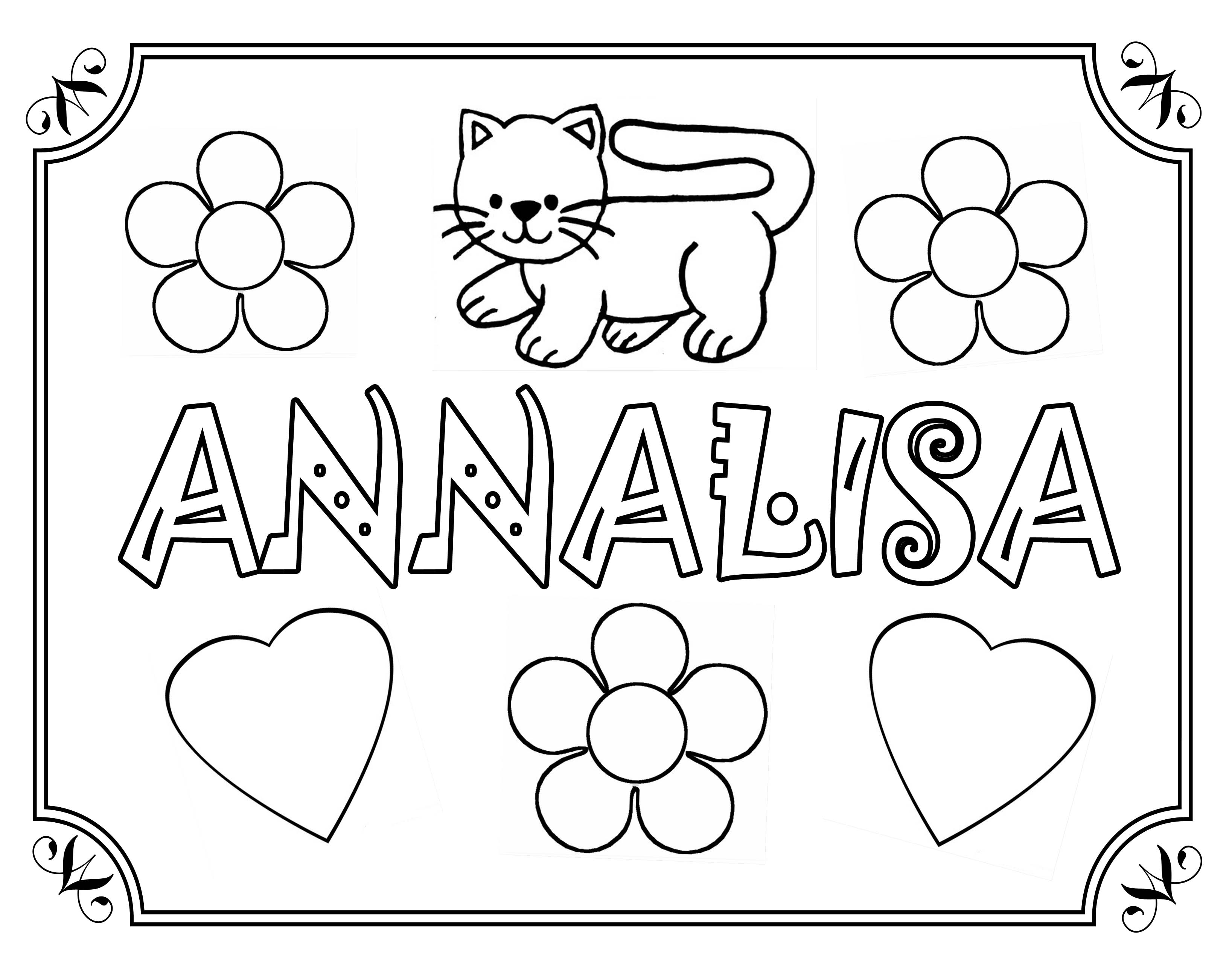 20 dessins de coloriage pr nom avec dessin gratuit imprimer - Prenom a imprimer ...
