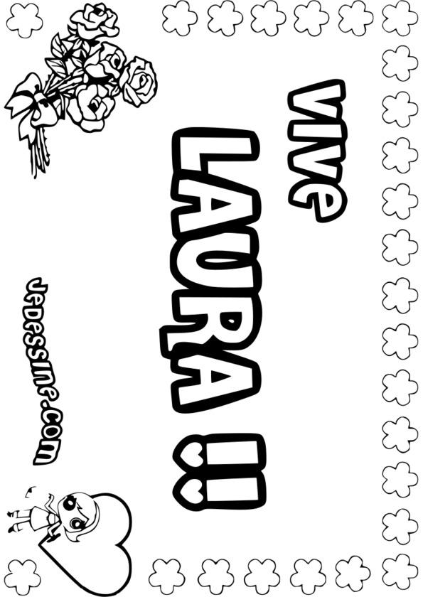 coloriage tag prenom imprimer