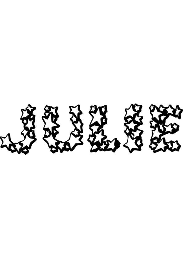 dessin prenom ines