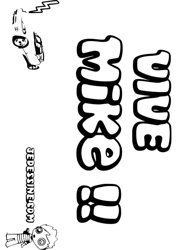 dessin prénom anaelle