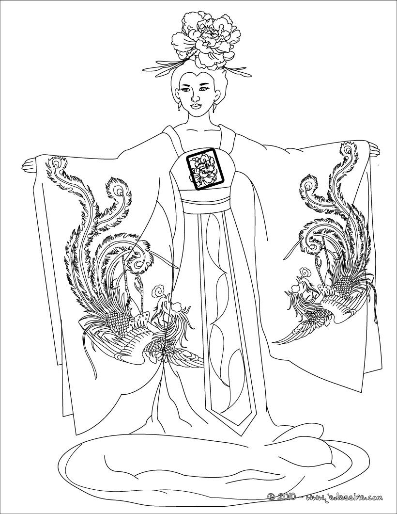 19 dessins de coloriage prince of persia a imprimer imprimer - Coloriage chine ...