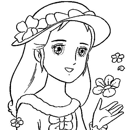 20 dessins de coloriage princesse imprimer gratuit - Princesse dessin ...