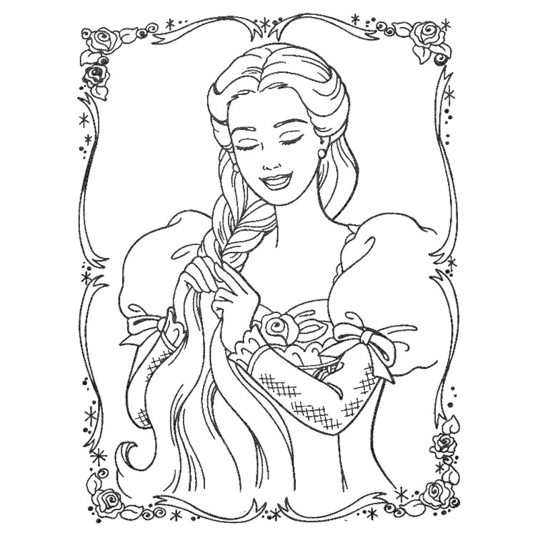 20 dessins de coloriage princesse imprimer gratuit imprimer - Coloriage de princesse a imprimer gratuit ...