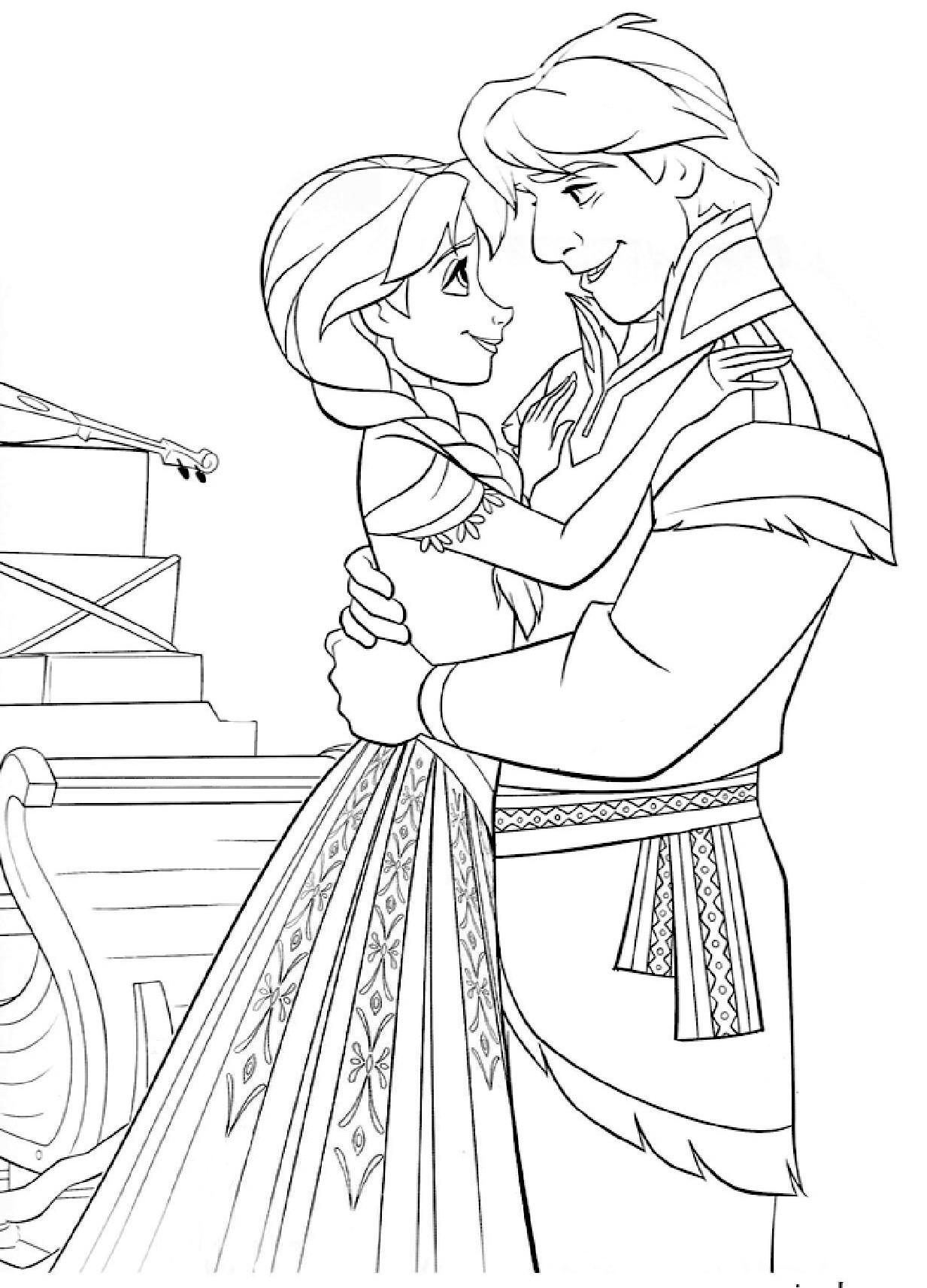 dessin de princesse anna