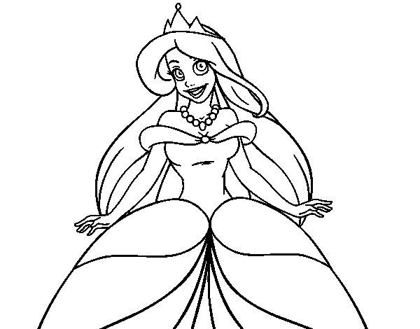 dessin princesse arielle petite sirene