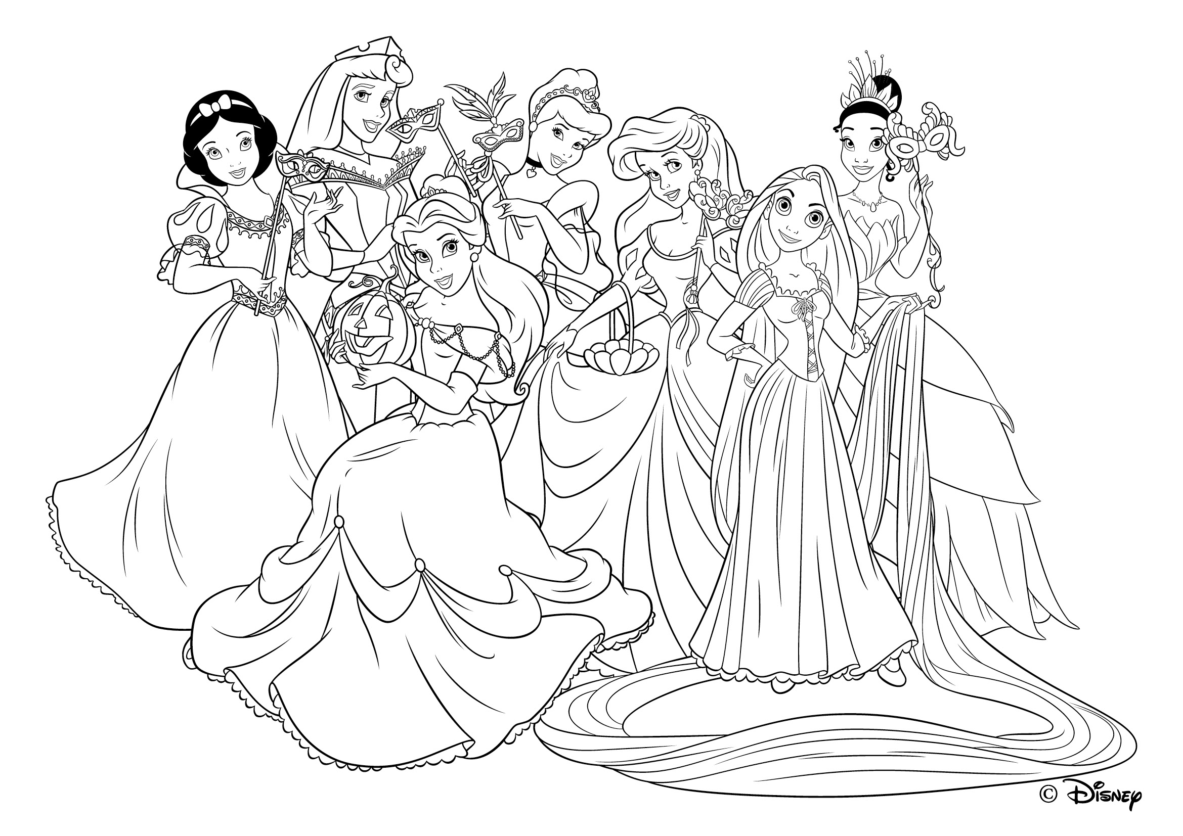 49 dessins de coloriage princesse du nil imprimer - Barbie princesse coloriage ...