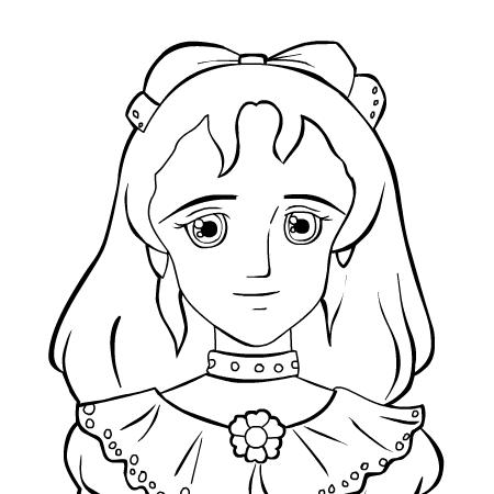 20 dessins de coloriage princesse en ligne imprimer - Coloriage en ligne princesse ...