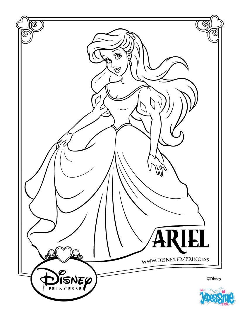 20 dessins de coloriage princesse en ligne imprimer - Coloriage en ligne superman ...