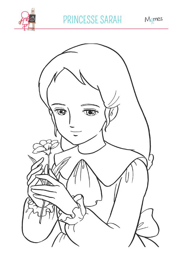 7 dessins de coloriage princesse sarah imprimer imprimer - Voir princesse sarah ...