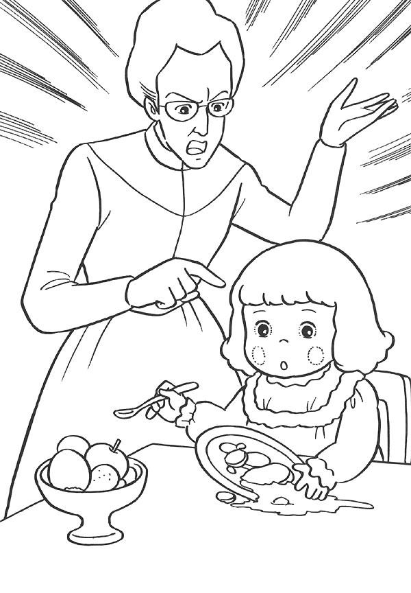 coloriage à dessiner princesse sarah gratuit