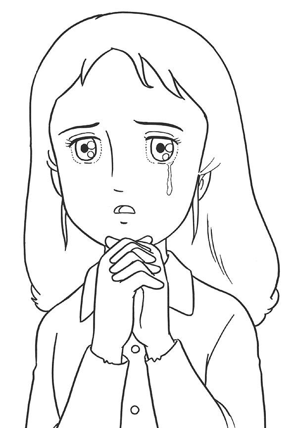 coloriage à dessiner tv princesse sarah