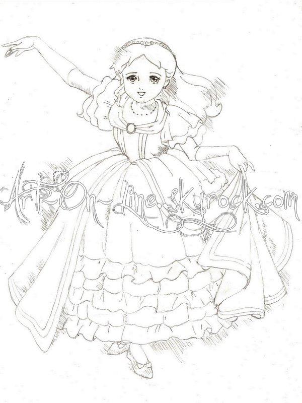 Coloriage princesse sarah gratuit - Dessin anime de princesse sarah ...