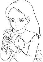 coloriage princesse sarah en ligne
