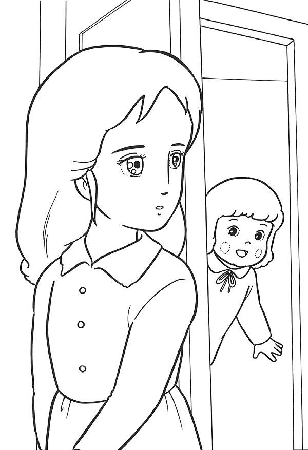 dessin princesse sarah gratuit