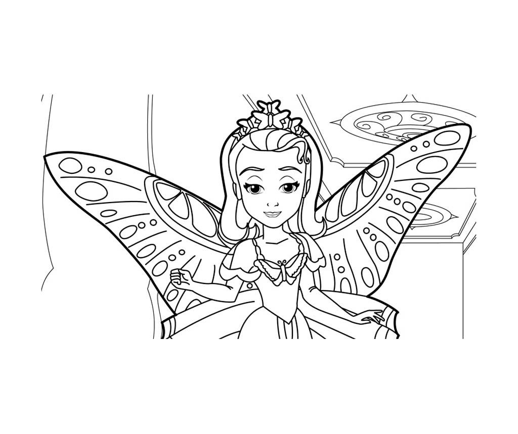 19 dessins de coloriage Princesse Sofia à Imprimer à imprimer