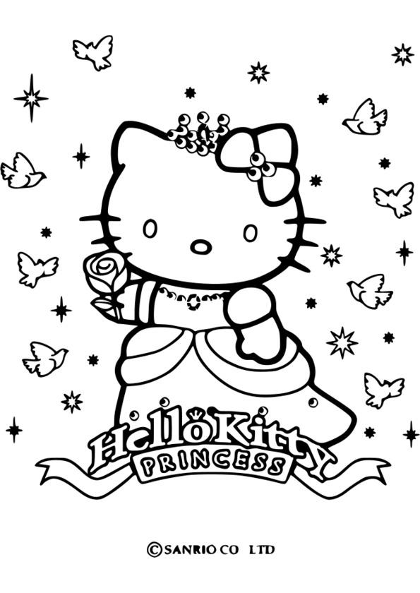 coloriage princesse horreur
