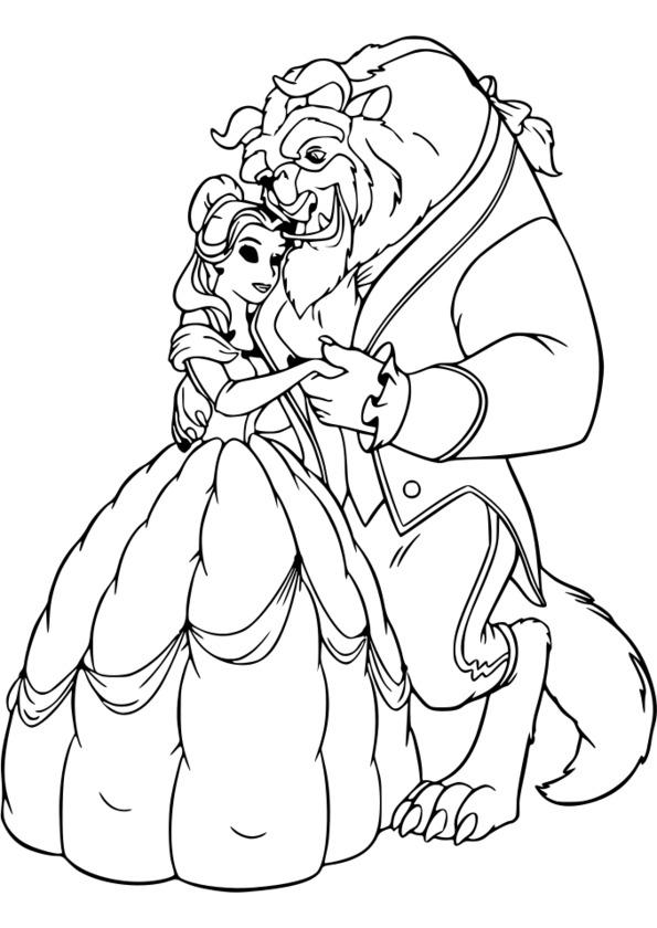 Coloriage princesse pdf - Prince et princesse dessin ...