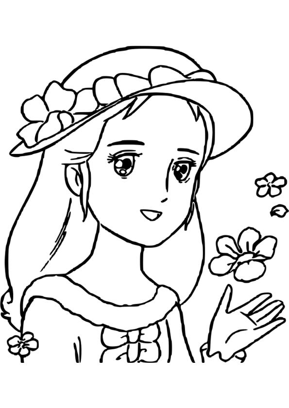 coloriage a colorier princesse