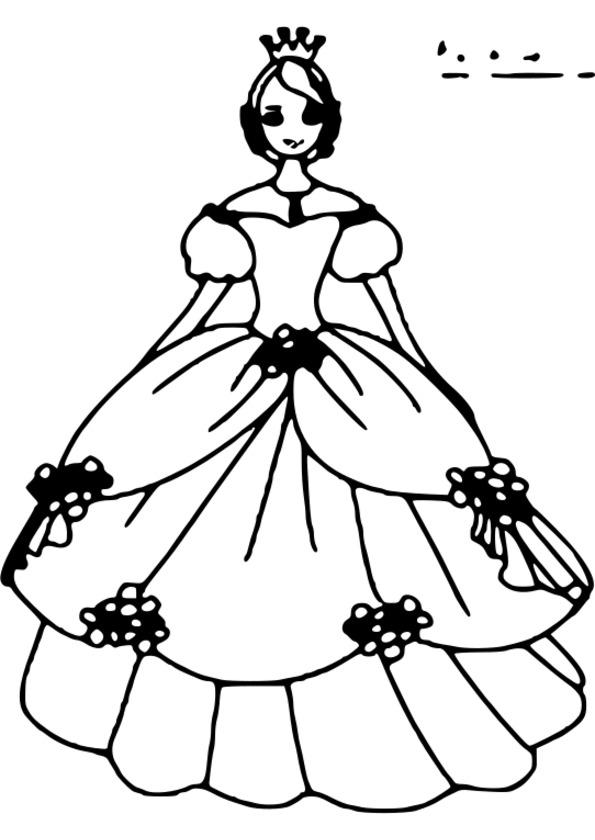 coloriage princesse disney en ligne gratuit