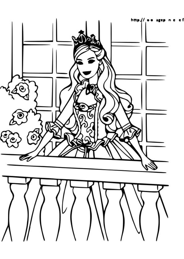 coloriage princesse manga