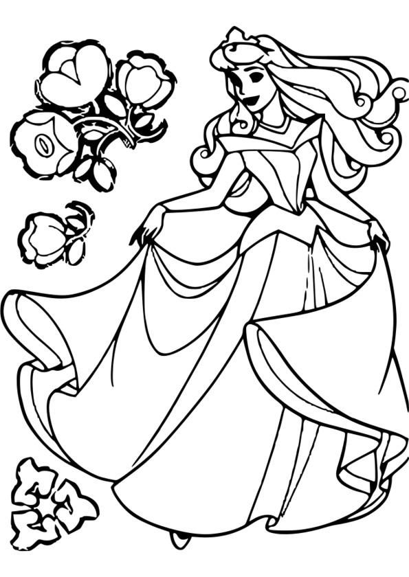 www.coloriage princesse en ligne