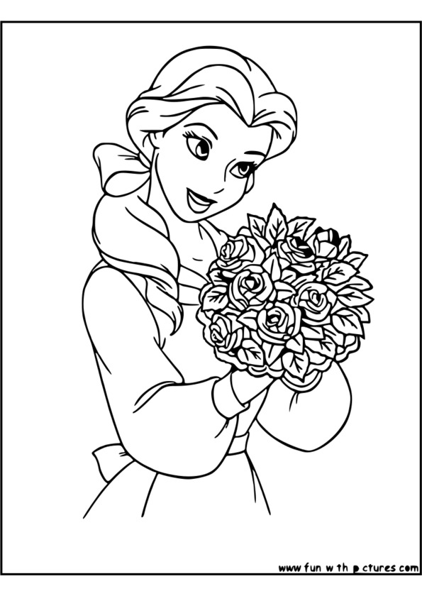 coloriage noel princesse disney