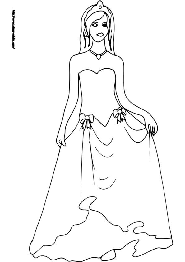 coloriage princesse jeux