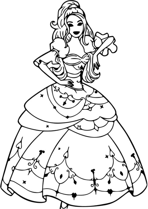 Coloriage princesse imprimer raiponce - Princesse a colorier ...