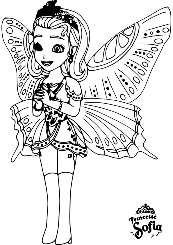 Téléchargez Et Imprimez Princesse Coloriage à Imprimer