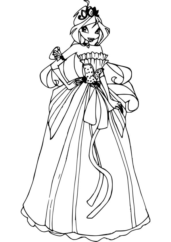Dessin Princesse Vaiana