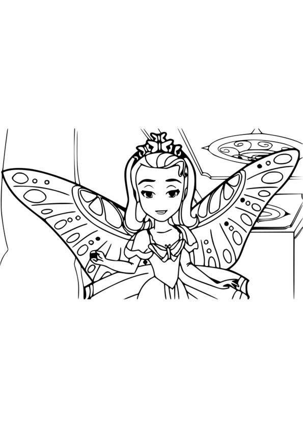 coloriage interactif princesse disney