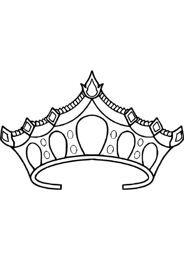 coloriage gratuit de princesse