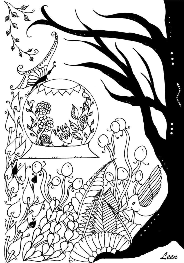 87 dessins de coloriage printemps adulte imprimer - Coloriage mandala printemps ...