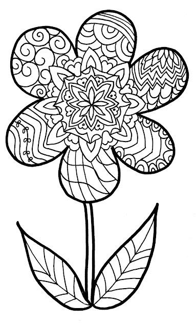 94 dessins de coloriage printemps ce1 imprimer - Coloriage mandala printemps ...