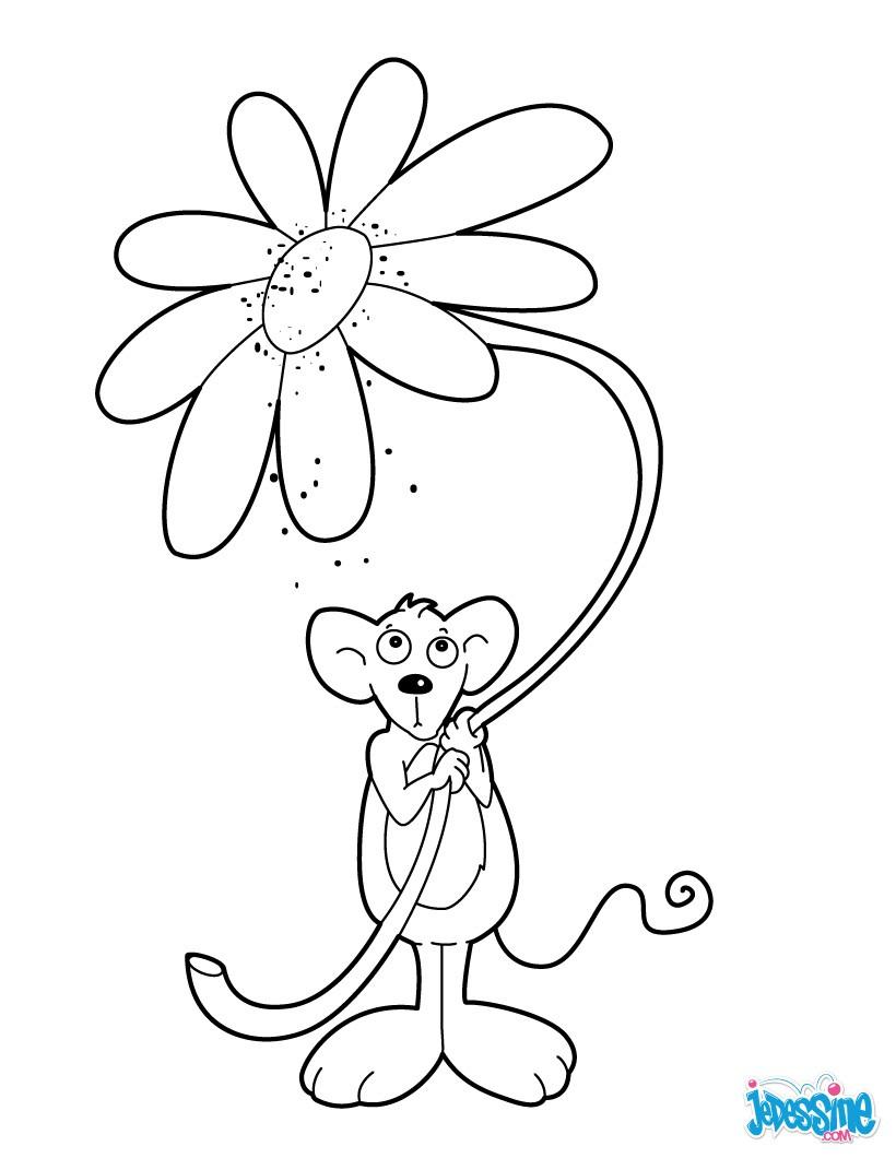100 dessins de coloriage printemps en ligne imprimer for Vente des fleurs en ligne