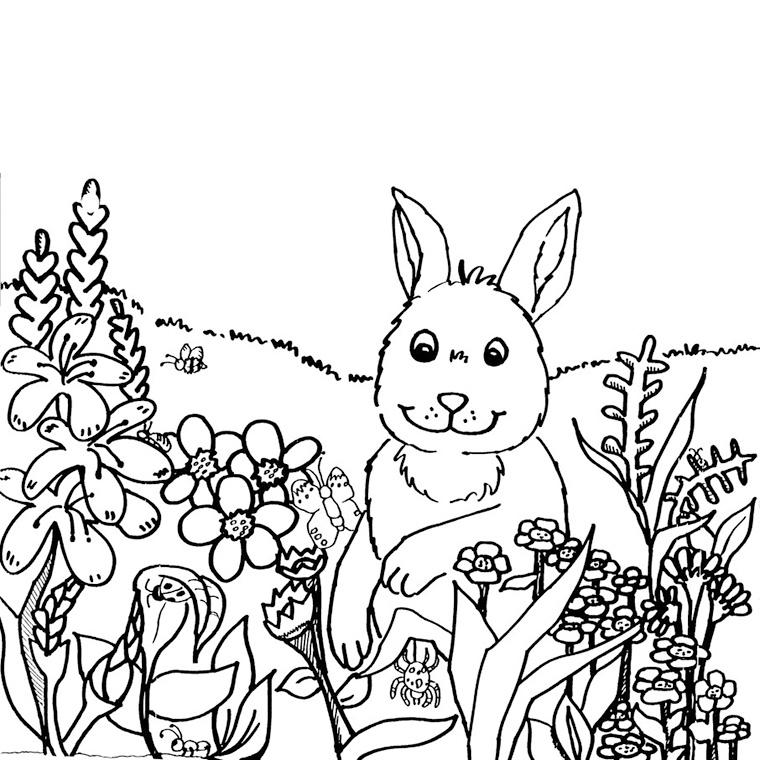 100 dessins de coloriage printemps en ligne imprimer - Coloriage en ligne superman ...