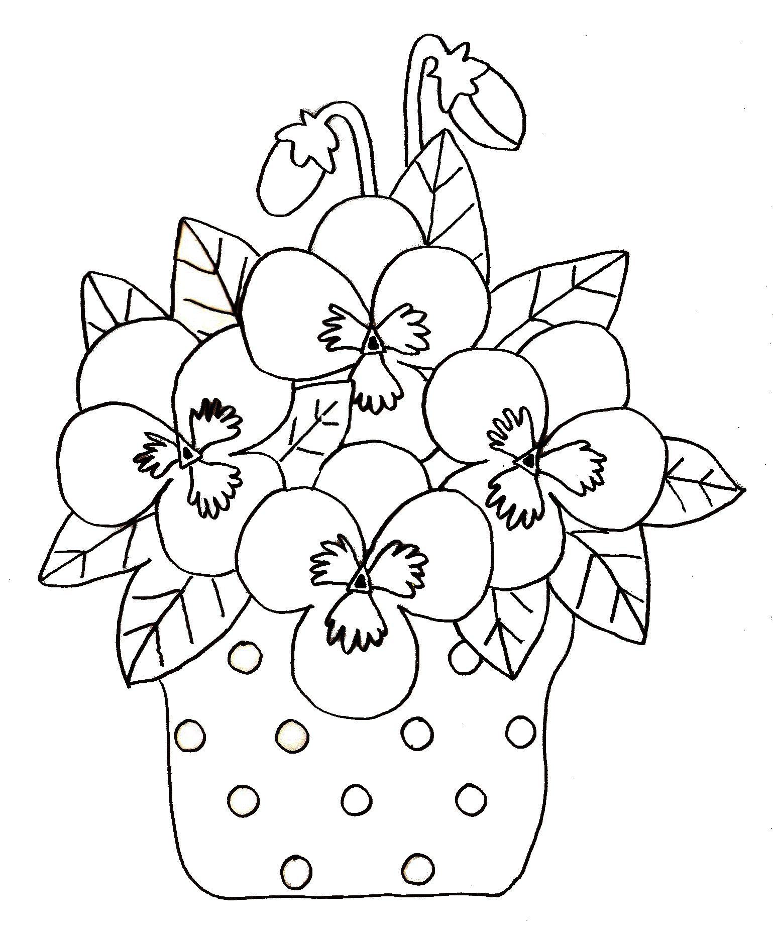 98 dessins de coloriage printemps fleurs imprimer - Coloriage fleurs maternelle ...