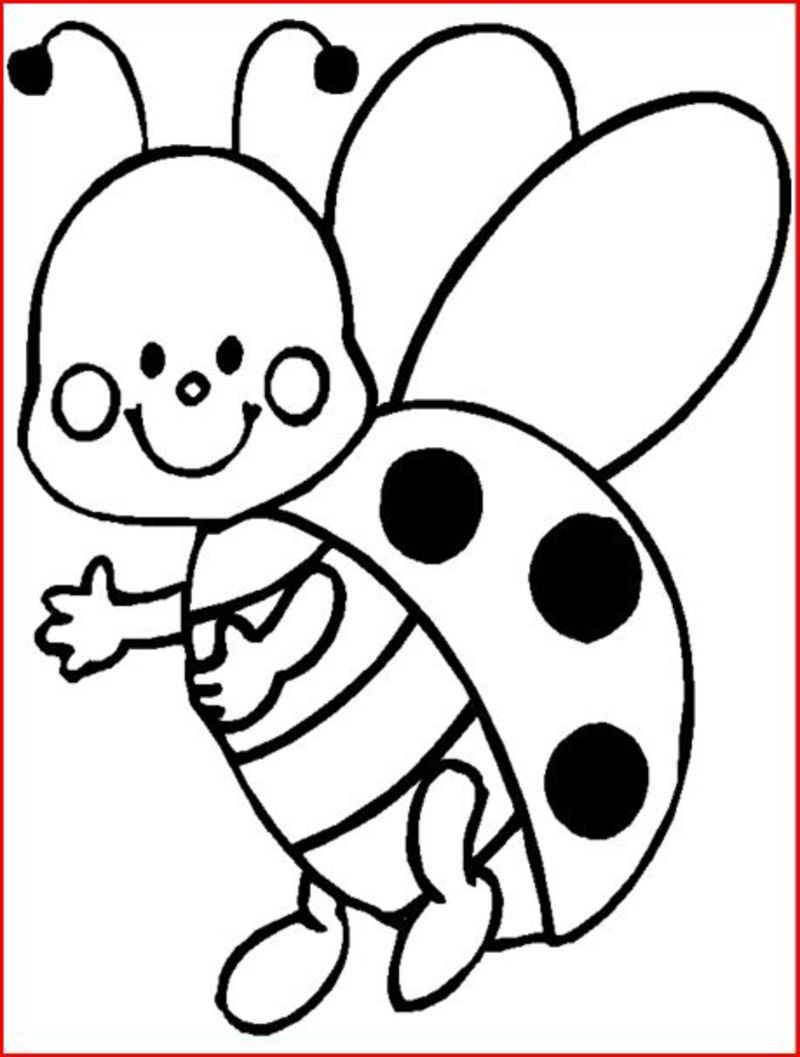 115 dessins de coloriage printemps imprimer - Dessin coccinelle facile ...