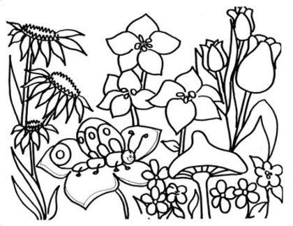 coloriage mandala printemps imprimer