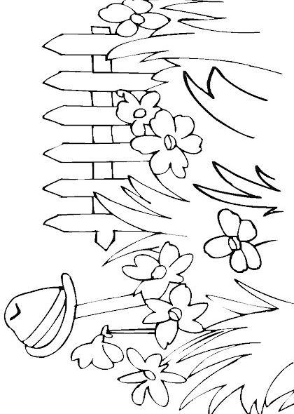 dessin c'est le printemps