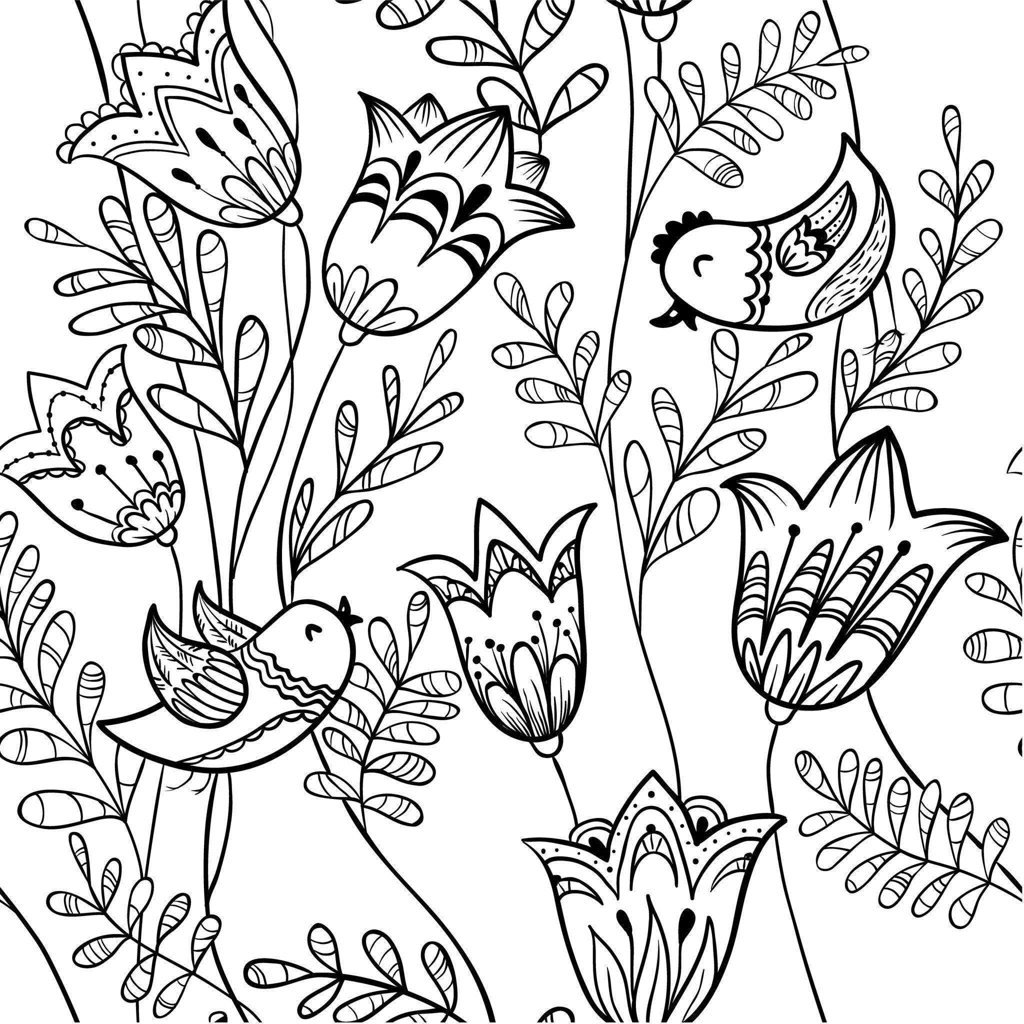 Coloriage De Printemps Petite Section