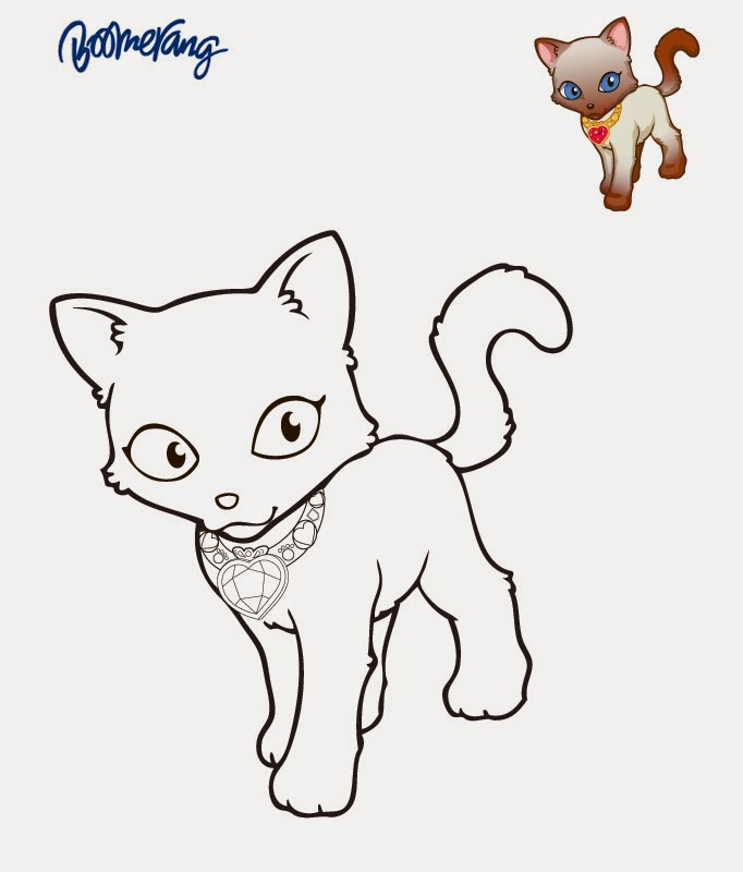 coloriage à dessiner de puppy in my pocket
