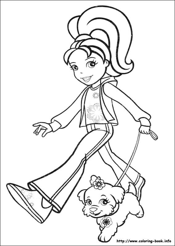 coloriage � dessiner de puppy in my pocket en ligne