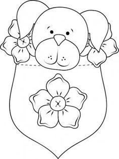 coloriage � dessiner puppy in my pocket � imprimer