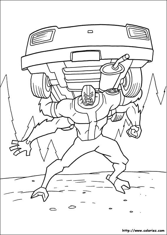 dessin quad ben 10