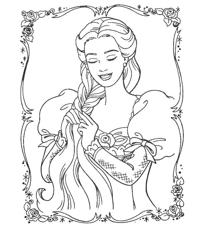 Раскраски для девочек которым 9 лет