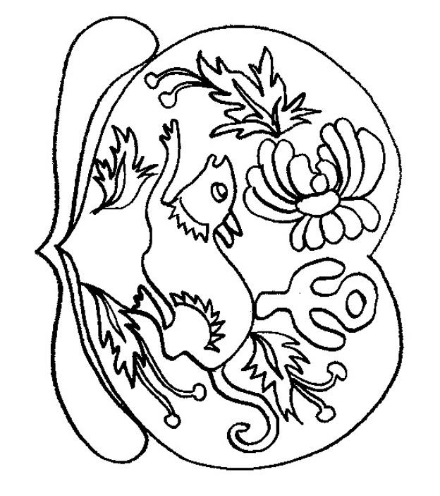 rat en dessin à colorier
