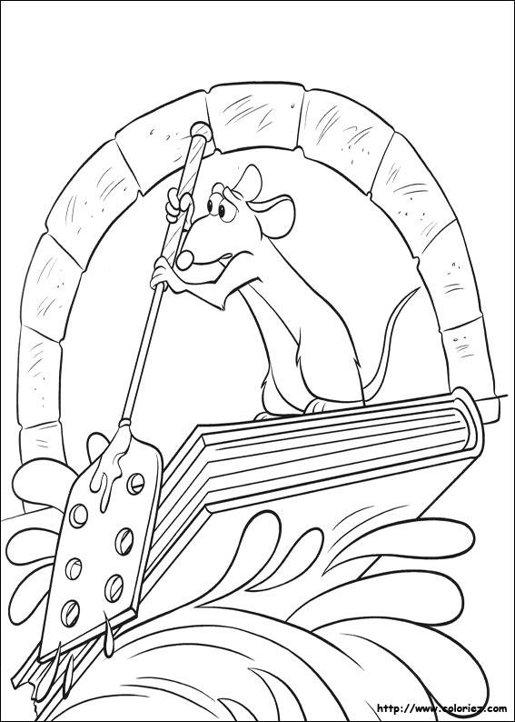 dessin sorcière ratatouille