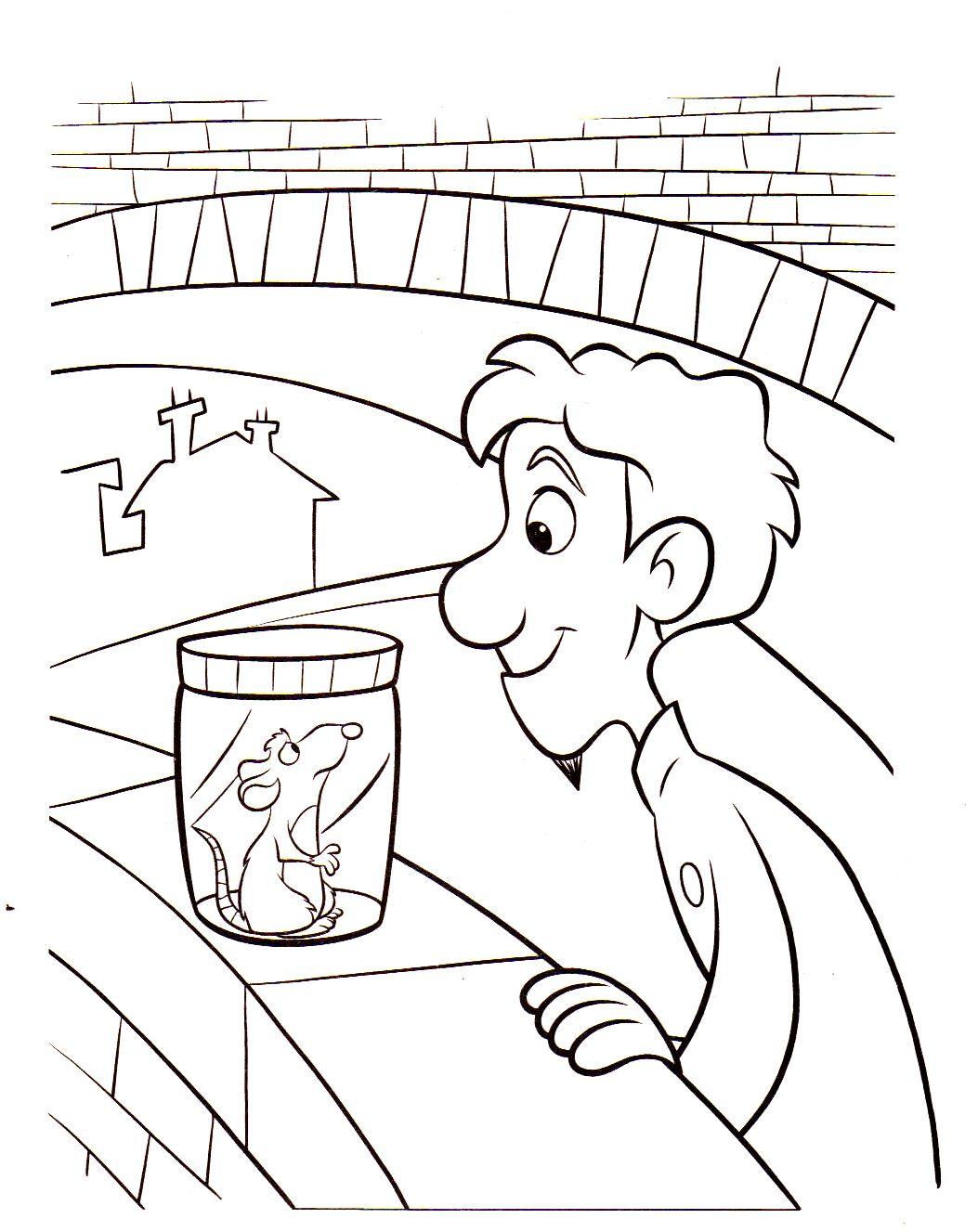 Dessin gratuit ratatouille imprimer - Coloriage ratatouille ...