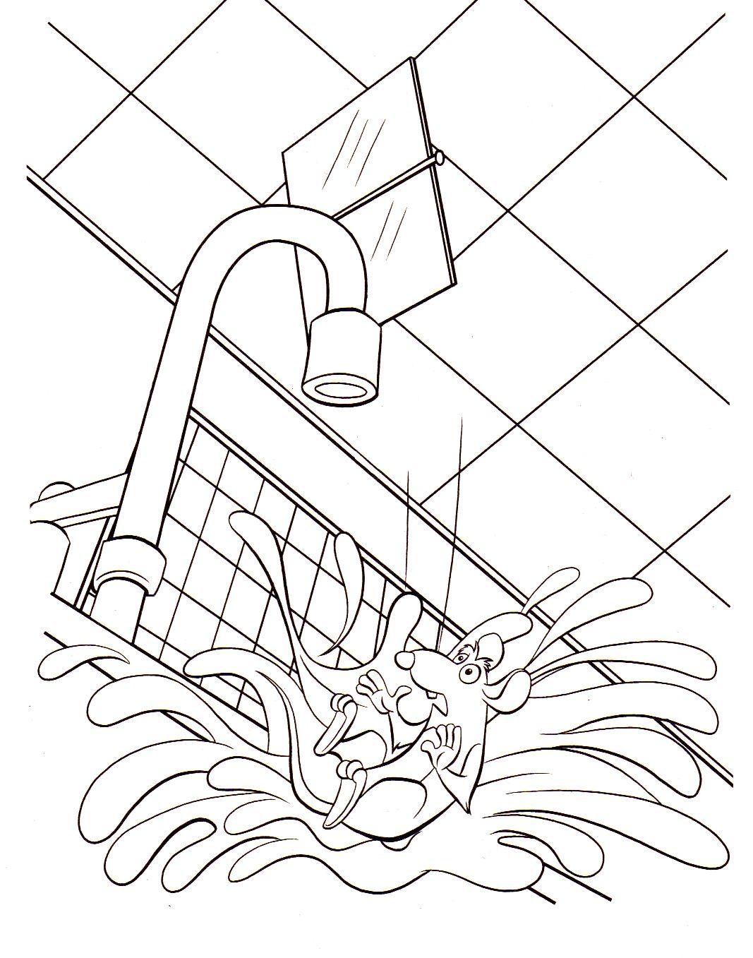 dessin � imprimer ratatouille